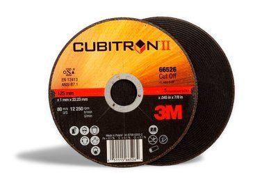 3M™ Cubitron™ II Tarcza do cięcia, 125 mm x 2,5 mm x 22,23 mm / 65477
