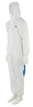 3M™ Kombinezon ochronny 4535, kategoria III, type 5/6, rozmiar XL, white-niebieski