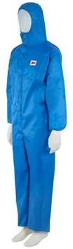 3M™ Kombinezon ochronny 4532+, kategoria III, type 5/6, rozmiar XXL, niebieski z jasnoniebieskim tylnym panelem