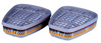 3M™ 6057 Pochłaniacz przeciw gazom i parom nieorganicznym, ABE1, 6057