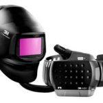 3M™ Speedglas™ Przyłbica spawalnicza G5-01 z filtrem spawalniczym G5-01TW, z systemem ochrony dróg oddechowych 3M™ Adflo™ i zestawem akcesoriów i części zamiennych, 617829