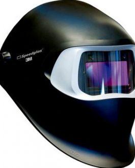 3M™ Speedglas™ Przyłbica spawalnicza 100, czarna, filtr 100V, zaciemnienie 3/8-12
