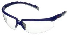 Okulary ochronne 3M™ Solus™ 2000, niebiesko/szare zauszniki, bezbarwne soczewki, S2001AF-BLU-EU