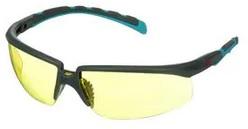 Okulary ochronne 3M™ Solus™ 2000, szaro/niebiesko-zielone zauszniki, z powłoką Scotchgard™, KN, żółte soczewki, S2003SGAF-BGR-EU