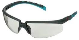 Okulary ochronne 3M™ Solus™ 2000, szaro/niebiesko-zielone zauszniki, z powłoką Scotchgard™, KN, I/O szare soczewki, S2007SGAF-BGR-EU