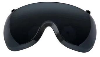 3M™ Krótka osłona twarzy X5-SV02-CE, poliwęglanowa, szara, odporna na zaparowanie i zarysowanie, przeznaczona do hełmów serii X5000 i X5500, 10 szt/opak.